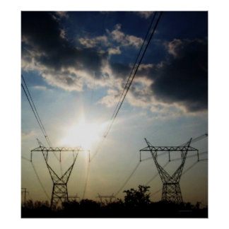 """""""Solar Power. Electrical Power."""" Poster"""