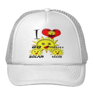 Solar Power Gifts and Promotional Products T-shirt Trucker Hat