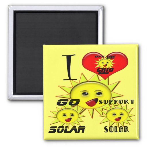 Solar Power Gifts and Promotional Products T-shirt Fridge Magnet
