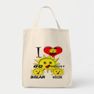 Solar Power Gifts and Promotional Products T-shirt Tote Bag
