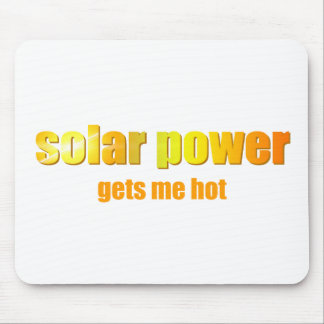 Solar Power Hot! Mousepad