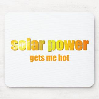 Solar Power Hot! Mousepad