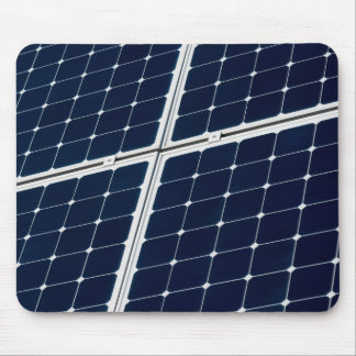 Solar power panel mouse pad