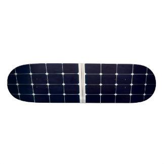 Solar power panel skateboard
