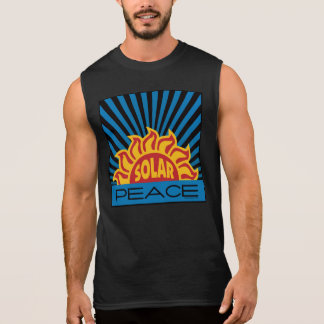 Solar Power Peace Sleeveless Shirt