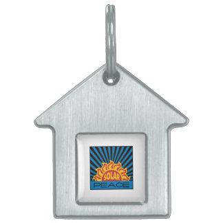 Solar Power Pet Name Tags