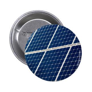 Solar power pinback button