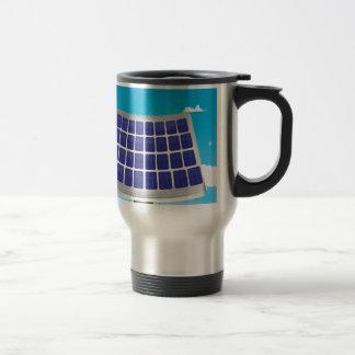 Solar Power Plant Travel Mug