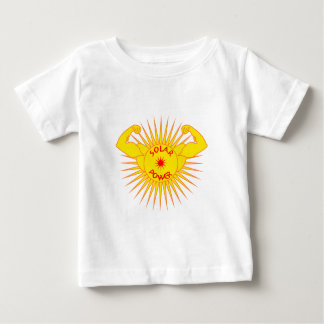 Solar power solarly power baby T-Shirt