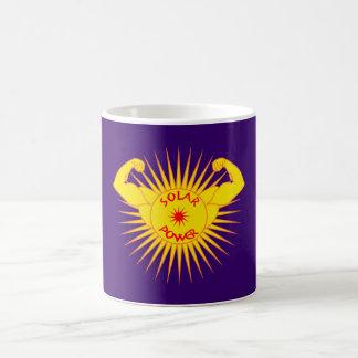 Solar power solarly power coffee mug