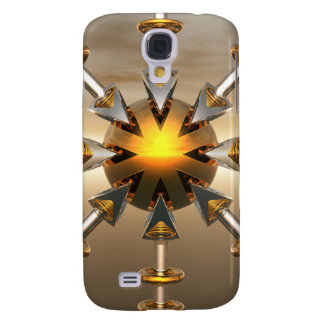 Solar Power Structure Samsung Galaxy S4 Cover
