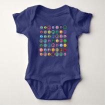 Solar Power Sun Baby Bodysuit