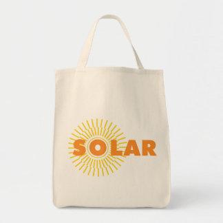 Solar Power Sun Canvas Bags