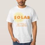 Solar Power Sun Shirt