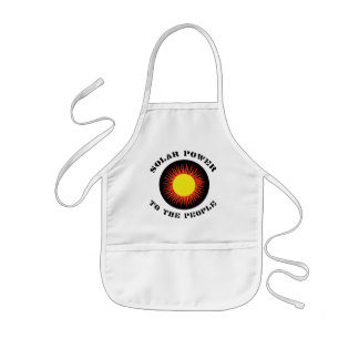 Solar Power To The People Aprons
