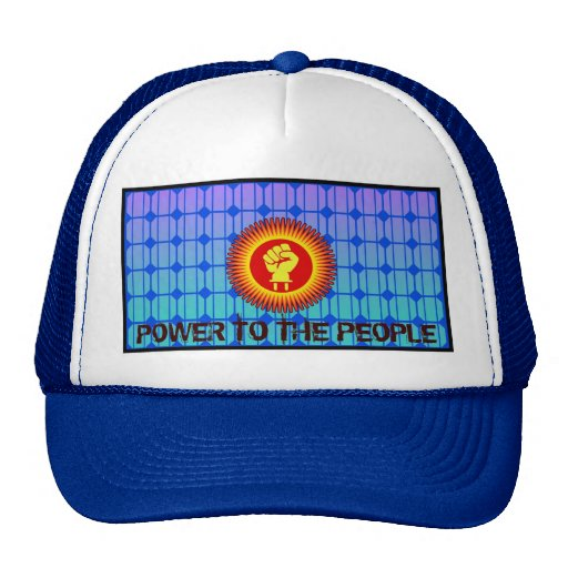 Solar Power to the People - Hat