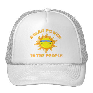 SOLAR POWER TO THE PEOPLE MESH HAT