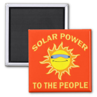 SOLAR POWER TO THE PEOPLE MAGNET
