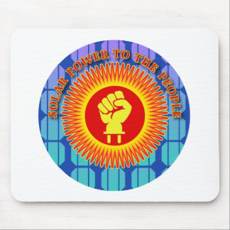 Solar Power to the People Mouse Pad