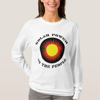 Solar Power To The People T-Shirt