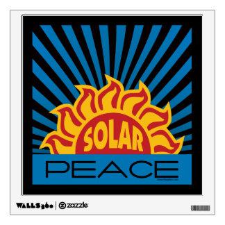 Solar Power Wall Decal