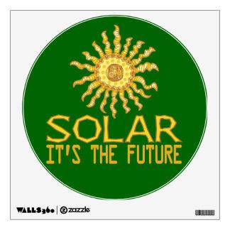 Solar Power Wall Sticker