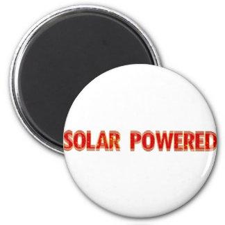 Solar Powered 2 Inch Round Magnet
