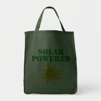 Solar Powered Grocery Tote Bag