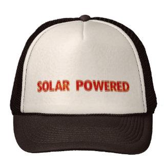 Solar Powered Trucker Hats