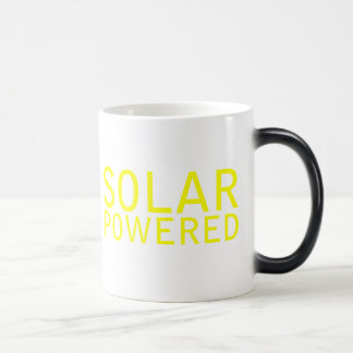 solar powered magic mug
