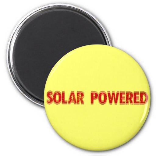 Solar Powered Magnet