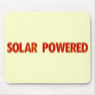 Solar Powered Mouse Pad