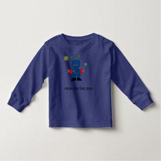 SOLAR POWERED Robot Toddler T-shirt