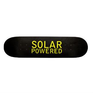 solar powered skateboard
