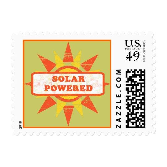 Solar Powered Stamp