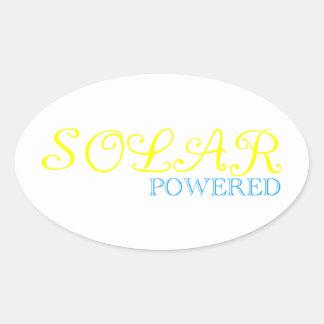 solar powered sticker