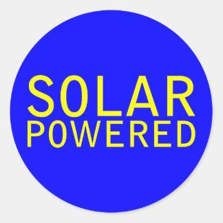 solar powered stickers