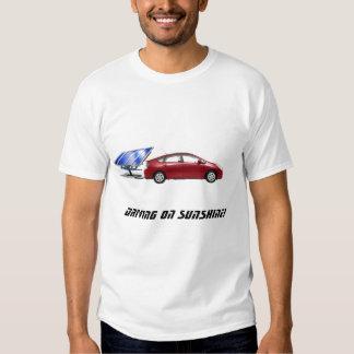 Solar Prius PHEV, Driving on sunshine! T Shirt