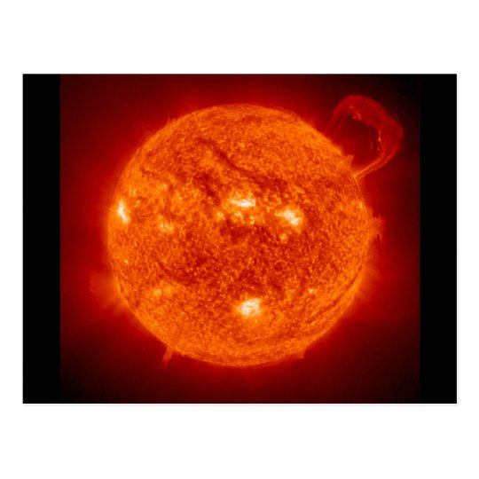 Solar Prominence - The Sun Postcard