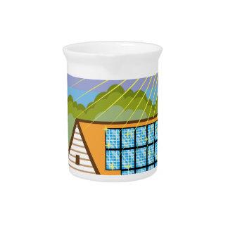 Solar Renewable Energy Eco Efficient Beverage Pitchers