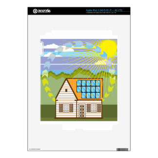 Solar Renewable Energy Eco Efficient iPad 3 Decals