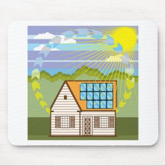 Solar Renewable Energy Eco Efficient Mouse Pad