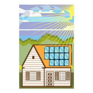 Solar Renewable Energy Eco Efficient Stationery
