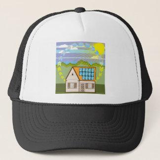 Solar Renewable Energy Eco Efficient Trucker Hat