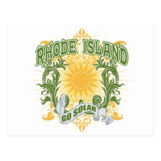 Solar Rhode Island Postcard