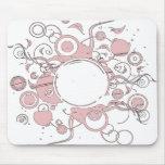 Solar rosado tapete de ratones