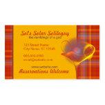 Solar Salud Faery Martini Art Business Cards