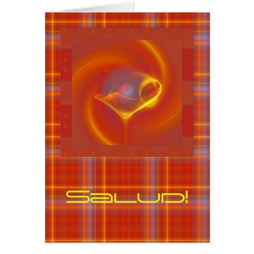 Solar Salud Faery Martini Art Card