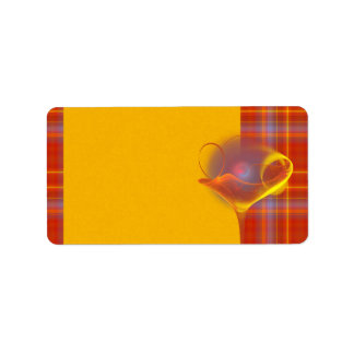 Solar Salud Faery Martini Art Label