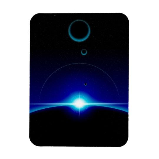 Solar Scene Magnet